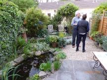 Open garden evening