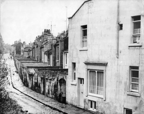 Upper Trafalgar Place in 1965.