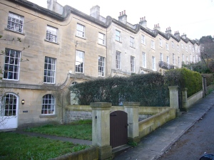 St Mary's Buildings today; built ca 1820, attributed to John Pinch.
