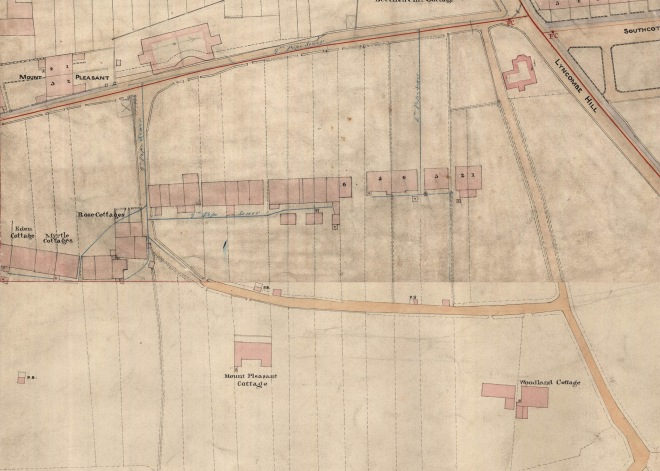 Part of Cotterell's map c. 1852. Reproduced by kind permission of Bath Record Office.